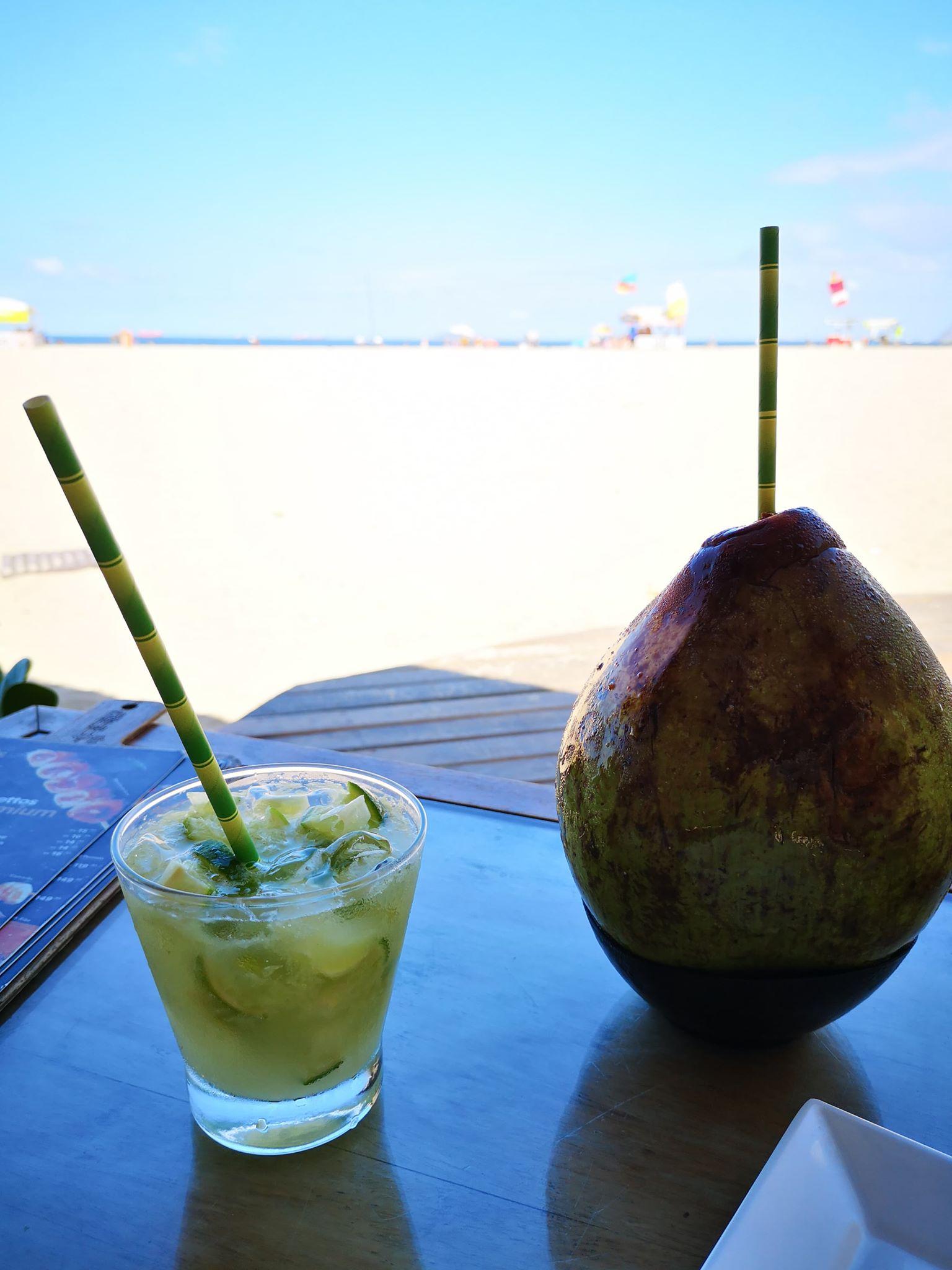 Pause rafraichissement à Copacabana