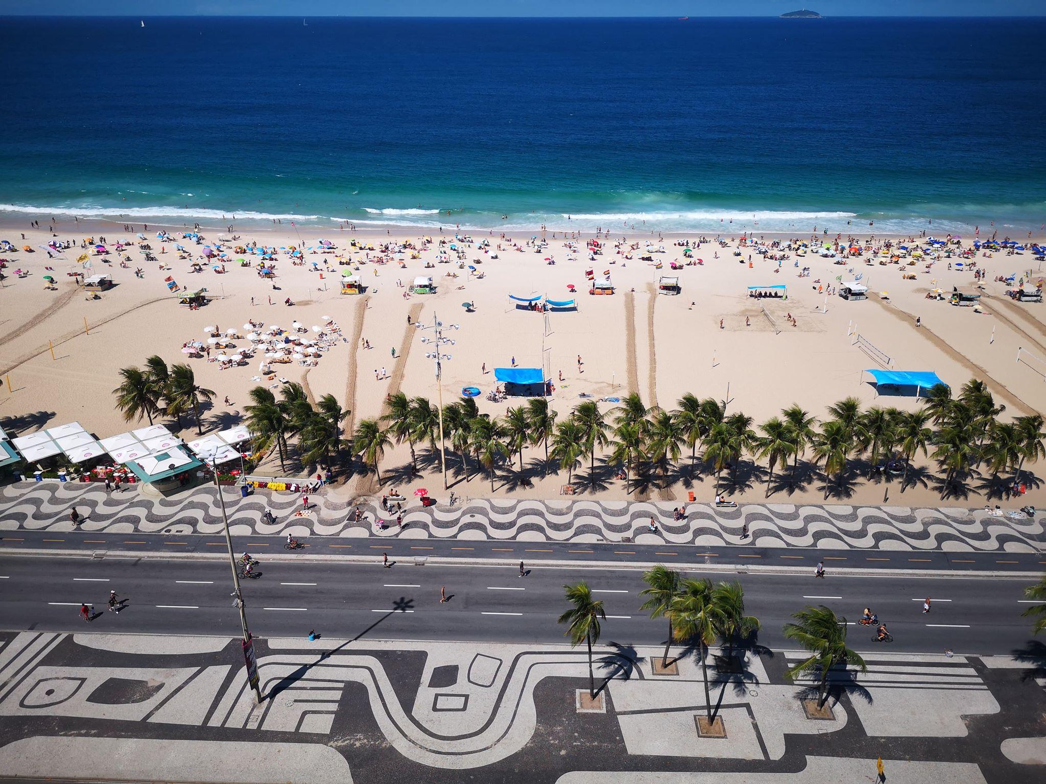 La plage de Copacabana