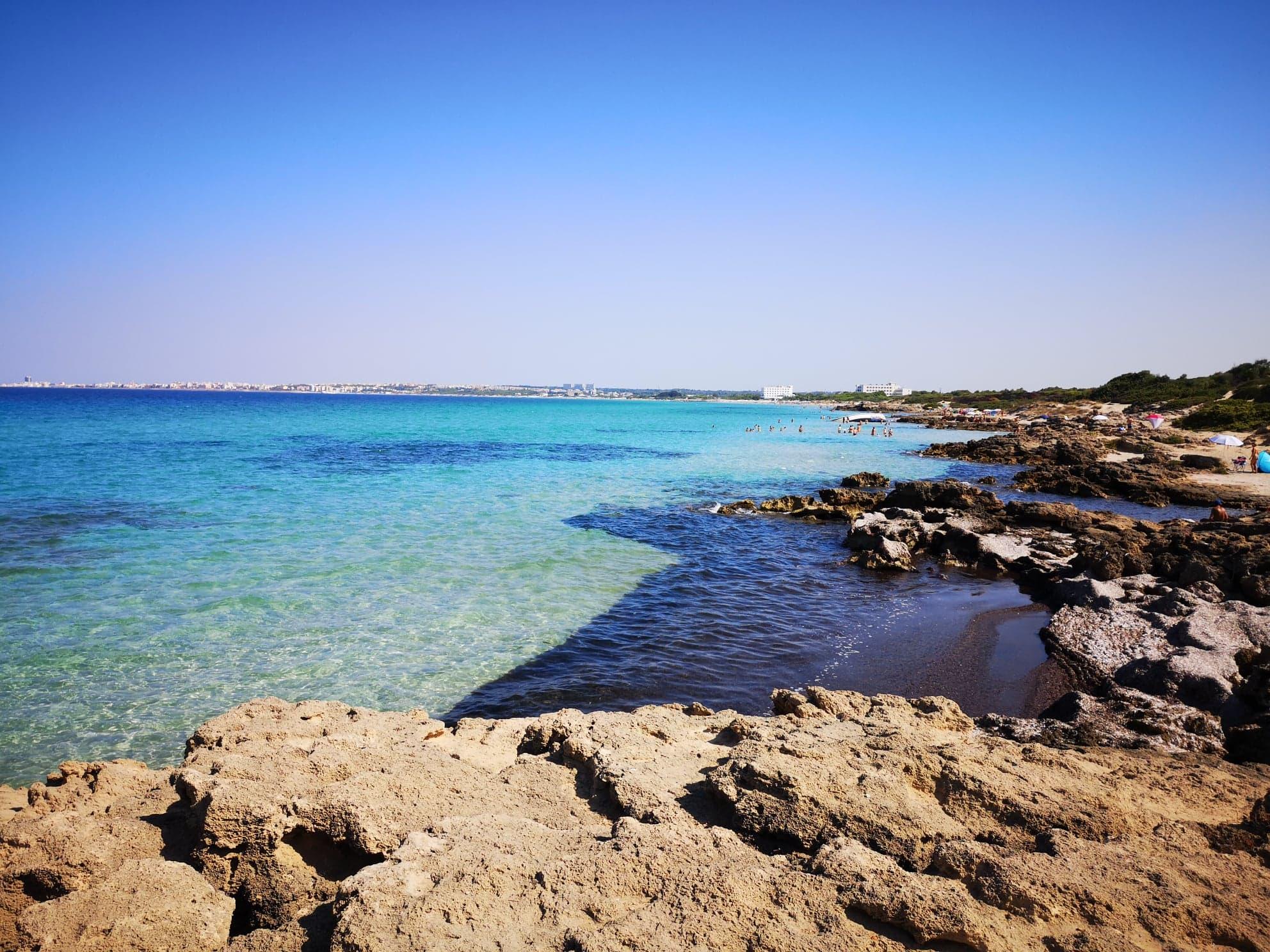 Plage de Punta della Suina