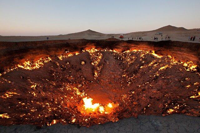 Porte de l'Enfer, Turkménistan