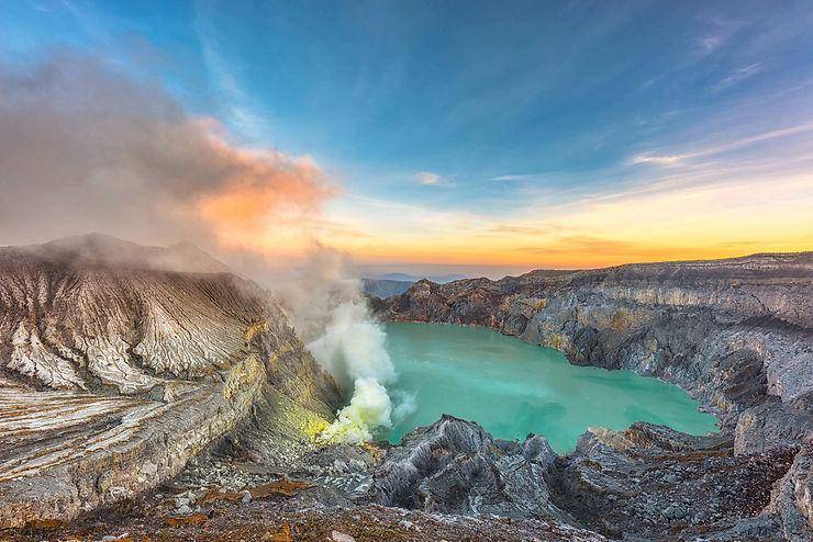 Volcan Ijen, Indonésie