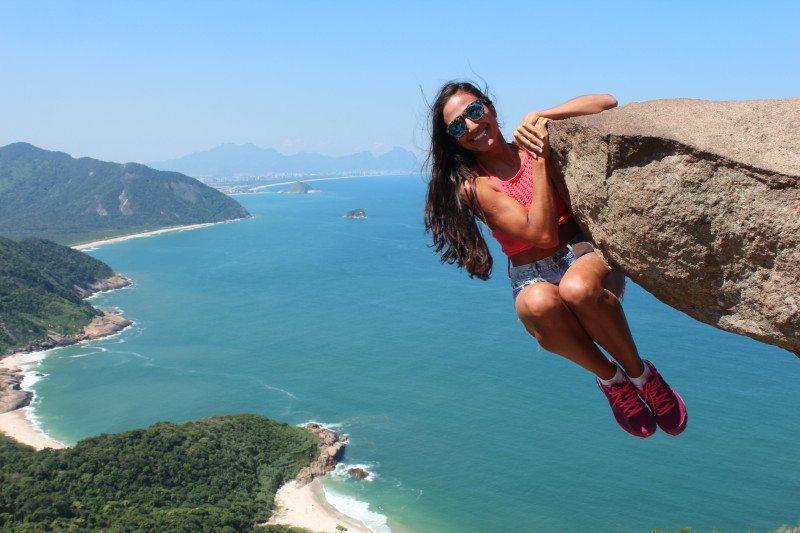 Pedra do gave pour une photo insolite