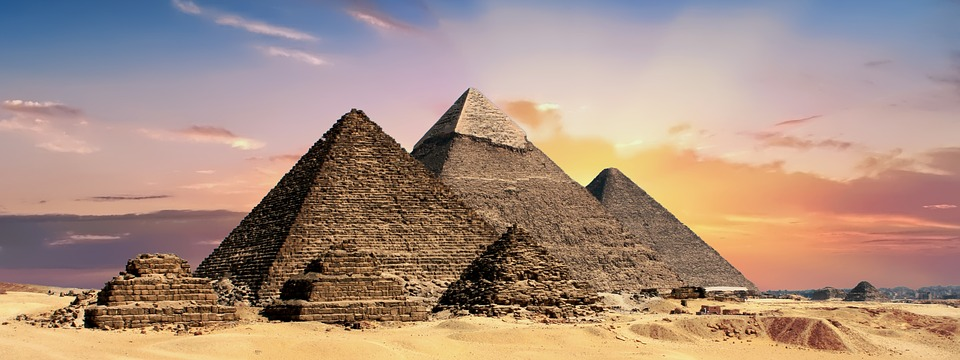 Les pyramides, Egypte