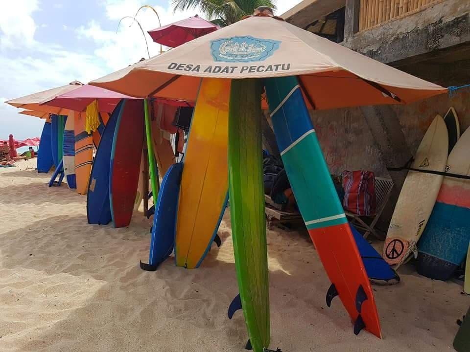 Initiation surf à Bali