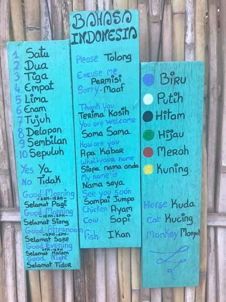 Découverte de la langue balinaise